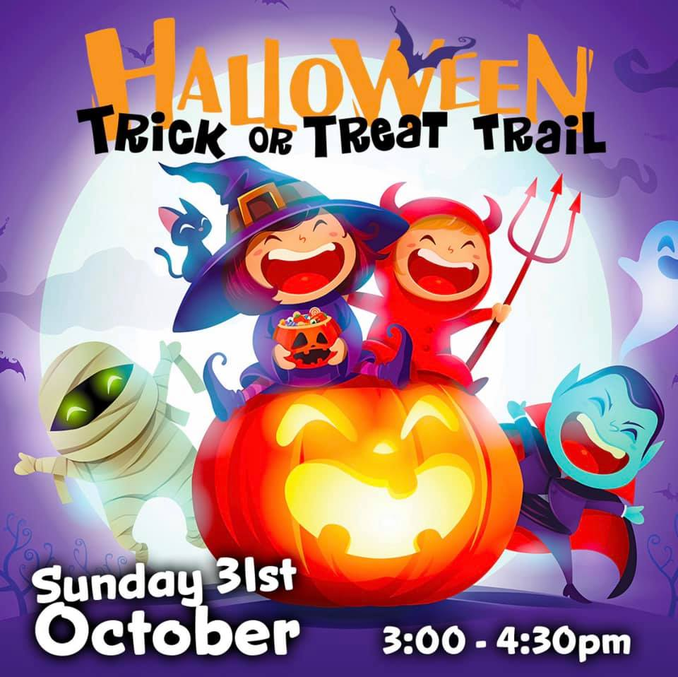 trick or treat trail henley square